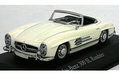 メルセデスベンツ 300 SL (W198II) 1957 ホワイト (1/43 ミニチャンプス400039034)