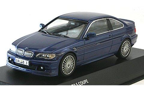 BMW アルピナ B3S クーペ アルピナブルー (1/43 京商K03431BL)
