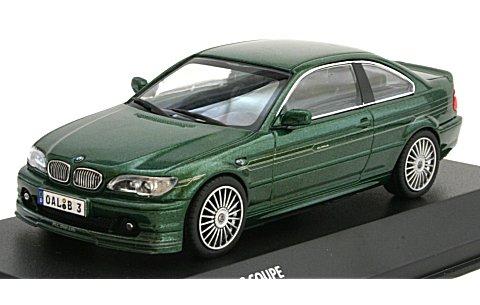 BMW アルピナ B3S クーペ アルピナグリーン (1/43 京商K03431GR)