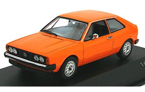 フォルクスワーゲン シロッコ 1974 オレンジ (1/43 ミニチャンプス430050425)