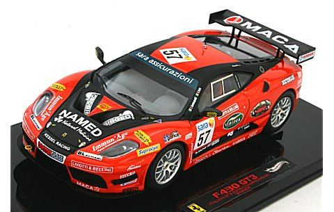 フェラーリ 430 GT3 Kessel Racing イタリアンチャンピオンシップ 2009 ウイナー (エリートシリーズ) (1/43 マテルMT1776W)