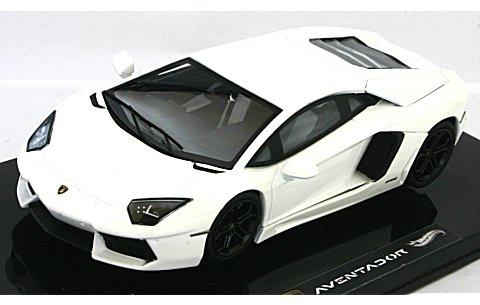 ランボルギーニ アヴェンタドール LP700-4 ホワイト (エリートシリーズ) (1/43 マテルMT7431V)