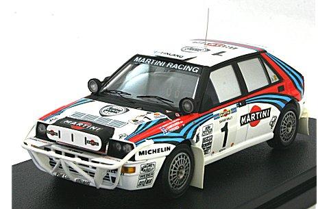 ランチア デルタ No1 1992 サファリ J・カンクネン (1/43 hpiレーシング8180)