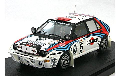 ランチア デルタ No5 1992 サファリ J・レカルデ (1/43 hpiレーシング8181)