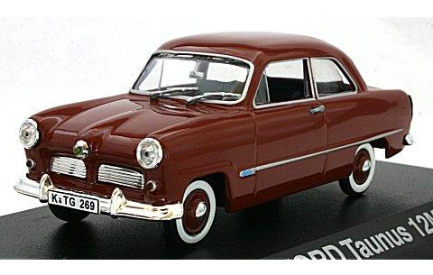 フォード タウナス 12M 1954 オキサイドレッド (1/43 ノレブ270533)