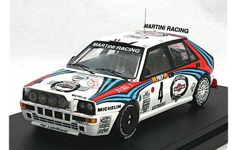 ランチア デルタ HF インテグラーレ No4 1992 モンテカルロラリー (1/43 hpiレーシング8278)