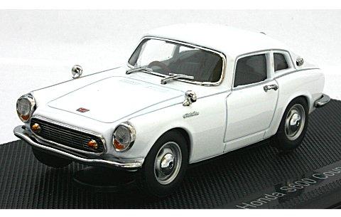 ホンダ S600 クーペ ホワイト (1/43 エブロ44626)