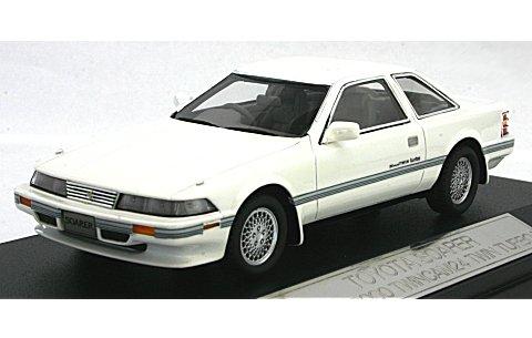 トヨタ ソアラ 2.0GT-TWIN TURBO 1988 スーパーホワイト3 (1/43 ハイストーリーHS043WH)