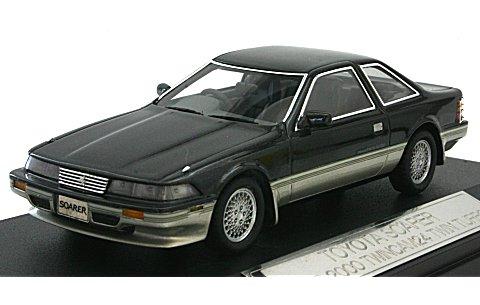 トヨタ ソアラ 2.0GT-TWIN TURBO 1988 ダンディーブラックトーニング (1/43 ハイストーリーHS043WH)