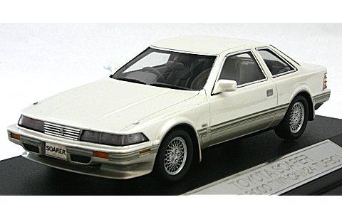 トヨタ ソアラ 3.0GT-LIMITED 1988 クリスタルホワイトトーニング2 (1/43 ハイストーリーHS043CW)