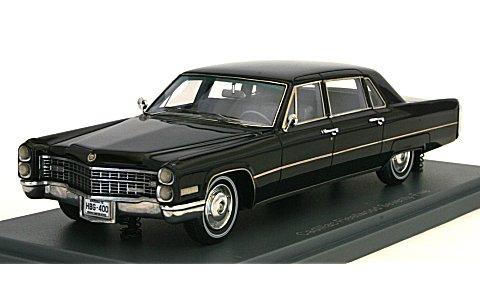 キャデラック フリートウッド リムジン ブラック 1966 (1/43 ネオNEO44400)