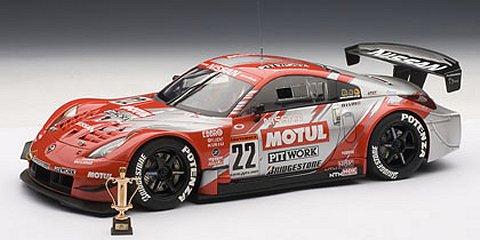モチュール ピットワーク Z No22 JGTC 2004 チームチャンピオン スペシャル・エディション (1/18 オートアート80486)