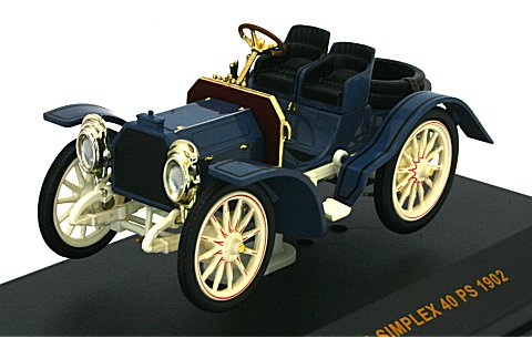 メルセデス シンプレックス 40 PS 1902 (1/43 イクソMUS036)