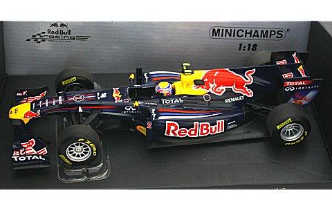 レッドブル レーシング M・ウェバー ショーカー 2011 (1/18 ミニチャンプス110110072)