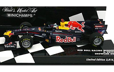 レッドブル レーシング S・ベッテル ショーカー 2011 (1/43 ミニチャンプス410110071)