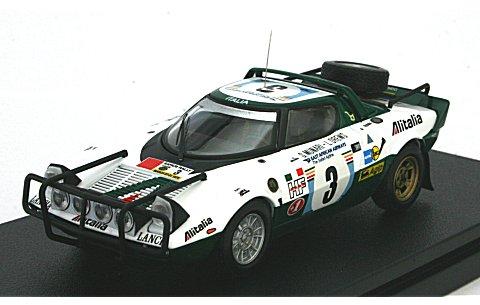 ランチア ストラトス HF No3 1975 サファリ (1/43 hpiレーシング8234)