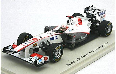 ザウバー C30 No16 2011 中国GP (1/43 スパークモデルS3018)