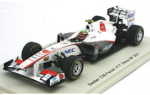 ザウバー C30 No17 2011 中国GP (1/43 スパークモデルS3019)