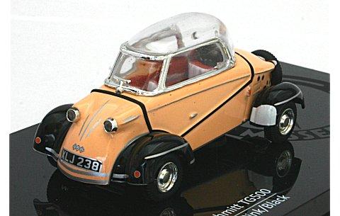 メッサーシュミット タイガー TG500 1959 ピンク/ブラック (1/43 ビテス29003)