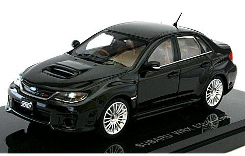 スバル インプレッサ WRX STI 4ドア Aライン ブラック (1/43 エブロ44399)
