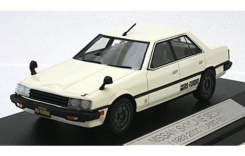 ニッサン スカイライン セダン 2000ターボ RS 1983 ホワイト (1/43 ハイストーリーHS044WH)