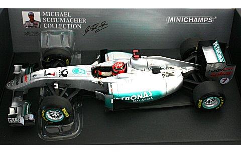 メルセデス GP M・シューマッハ ショーカー 2011 (1/18 ミニチャンプス110110077)