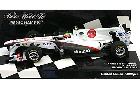 ザウバー F1 チーム S・ペレス ショーカー 2011 (1/43 ミニチャンプス4100110087)