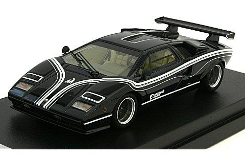 ランボルギーニ カウンタック LP500R 1977 ブラック (1/43 CAM@ C43006BK)