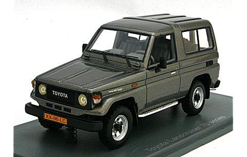 トヨタ ランドクルーザー LJ70 Mシルバー (1/43 ネオNEO43996)