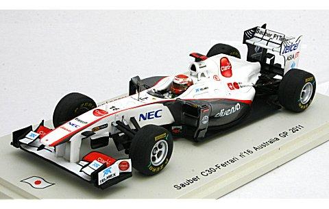 ザウバー C30 NO16 2011 オーストラリアGP (1/43 スパークモデルSJ003)