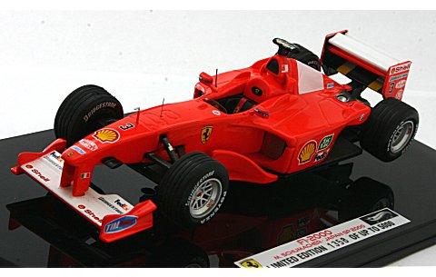 フェラーリ F1 2000 日本GP 2000 M・シューマッハ (1/43 マテルMT8379V)