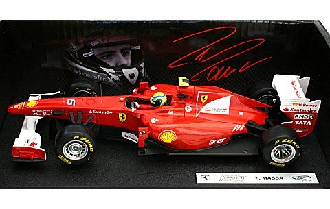 フェラーリ F150th Italia 2011 F・マッサ (ドライバー付) (1/18 マテルMT1074W)