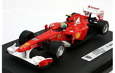 フェラーリ F150th Italia 2011 F・マッサ (ドライバー付) (1/43 マテルMT1076W)