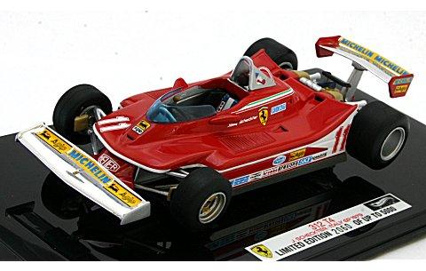 フェラーリ 312 T4 イタリアGP 1979 シェクター (1/43 マテルMT8372V)