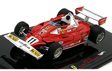 フェラーリ 312 T2 オランダGP 1977 ニキ・ラウダ (1/43 マテルMT1186W)