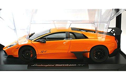 ランボルギーニ ムルシエラゴ LP670-4 スーパーヴェローチェ 2009 オレンジ (1/18 ノレブ187962)