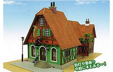 「ハウルの動く城」 ハッター帽子店 (1/150 さんけいMK07-03)