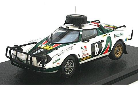 ランチア ストラトス HF No6 1976 サファリラリー (1/43 hpiレーシング8236)