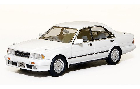 ニッサン セドリック グランツーリスモ SV 1989 ピュアホワイト (1/43 ハイストーリーHS045WH)