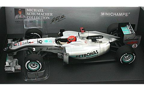 メルセデス GP ペトロナス F1チーム W01 M・シューマッハ 2010 (1/18 ミニチャンプス110100003)