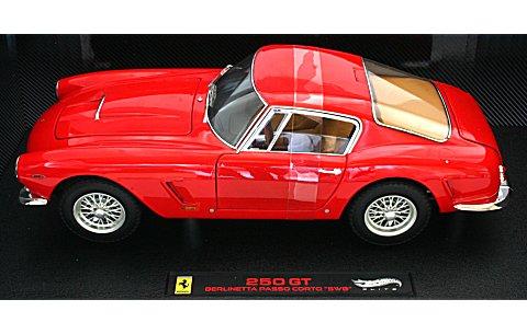 フェラーリ 250 GT ベルリネッタ Passo Corto SWB 1961 レッド (エリートシリーズ) (1/18 マテルMT8377V)