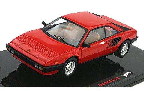 フェラーリ モンディアル 8 クーペ レッド (エリートシリーズ) (1/43 マテルMT8381V)