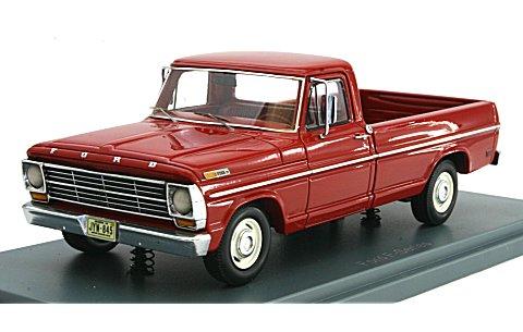 フォード F100 ピックアップ トラック レッド 1968 (1/43 ネオNEO44845)