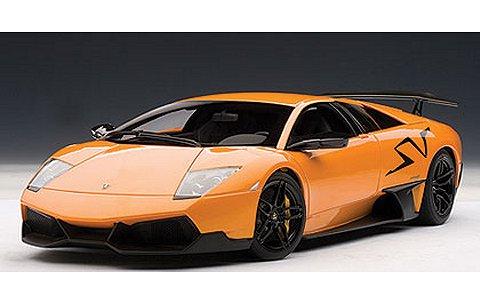 ランボルギーニ ムルシエラゴ LP670-4 スーパ−ヴェローチェ オレンジ (1/18 オートアート74617)