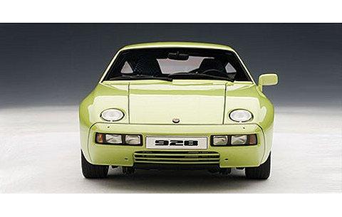 ポルシェ 928 ライトグリーンM (1/18 オートアート77904)