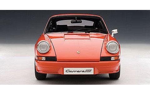 ポルシェ 911 カレラ RS 2.7 1973 オレンジ (1/18 オートアート78057)