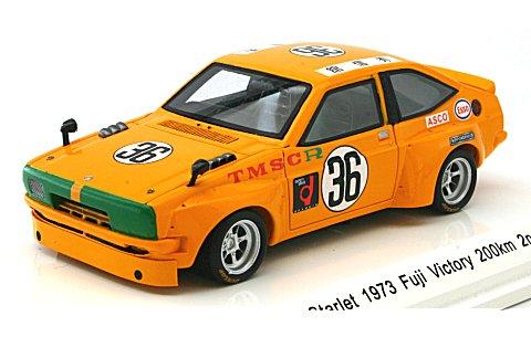 トヨタ スターレット 1973 富士ビクトリー 200km 2位 No36 (1/43 レーヴコレクションR70231)
