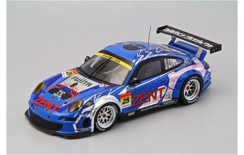 ゼント ポルシェ RSR スーパーGT300 2011 No25 (1/43 エブロ44581)