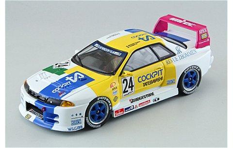 コックピット 館林 GT-R JGTC 1994 (1/43 エブロ44574)