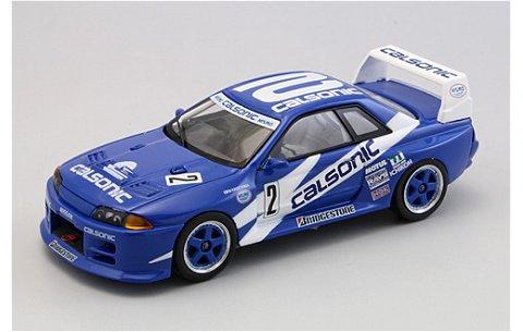 カルソニック スカイライン GT-R Rd.4 富士チャンピオン [専用バックカード付] (1/43 エブロ44646)